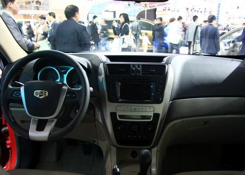 轴距与RAV4相同 帝豪EX7于今年8月上市