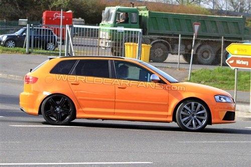 预计9月发布 奥迪RS3海外路试照曝光