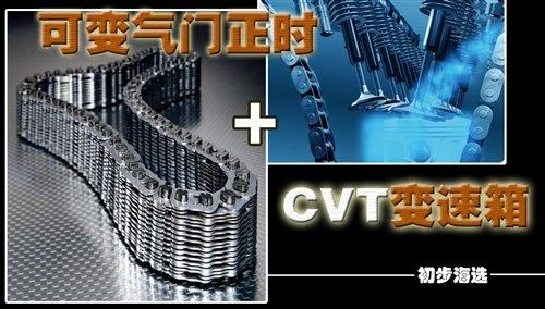 省油又舒适 VVT发动机+CVT家用车型导购