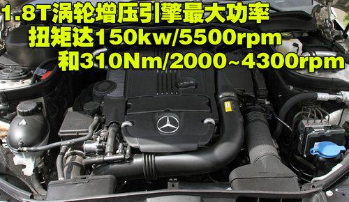 预计45万起售 奔驰GLK将推1.8T入门级