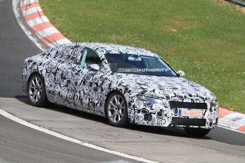 巴黎车展亮相 奥迪A7高性能版首次曝光