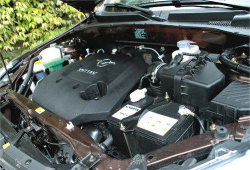 海马骑士发动机-小马乍行嫌路窄 试驾海马首款SUV骑士