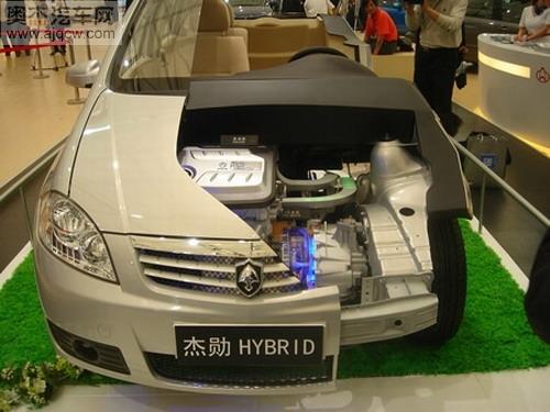 混合技术方案中有关整车控制、动力控制、电源控制、电池控制高清图片