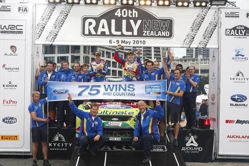 拉特瓦拉助福特成就WRC史上最成功车队