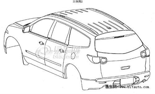 新SUV国产在即 雪佛兰Traverse线图曝光