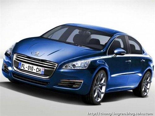 两年两款新车 标致508/3008国产信息!