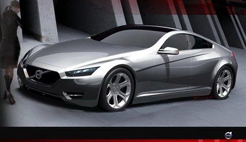 定位豪华轿车 沃尔沃SC90设计图曝光!