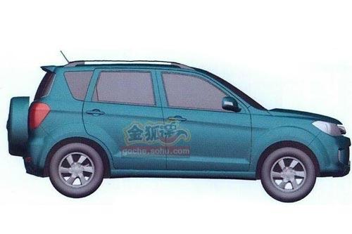 明年推两款SUV 长城哈弗H6/M3外观定型