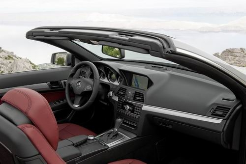 售价88.8万元 奔驰新E级敞篷跑车上市