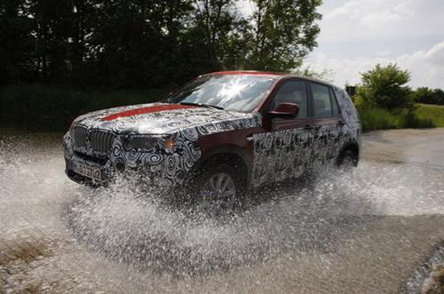 巴黎车展首发 全新宝马X3细节信息披露