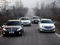 亚洲对抗欧洲 对比四款中大型行政级车