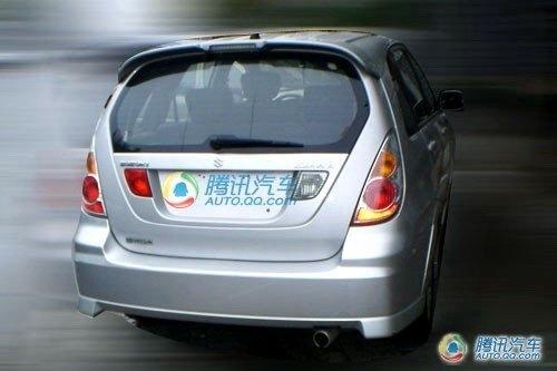 配1.4L发动机 昌河铃木利亚纳上市在即