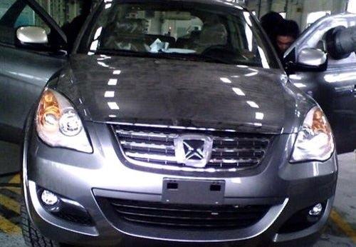 将悬挂新标识 江铃首款SUV于10月上市