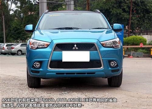 小号版欧蓝德 实拍三菱新SUV—ASX劲炫