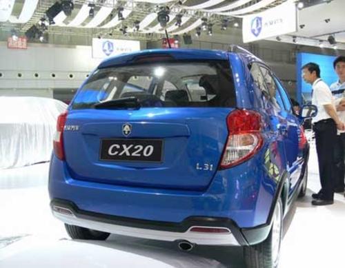 基于志翔系列 长安CX20新车详细解读