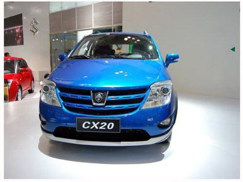 配1.3L发动机 长安CX20或将于8月上市