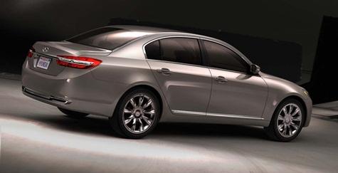 ...现代将于2009年初推出FWD Tiburon(酷派)运动型双门跑车的...