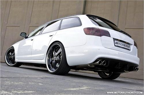 BT推出了奥迪RS6旅行车的改装版-百公里加速仅4.3秒 奥迪最快旅行车