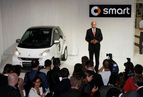 奔驰smart高清图片