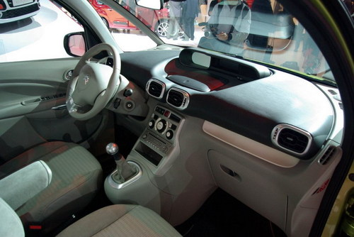 雪铁龙推出新款C3毕加索 亮相巴黎车展高清图片