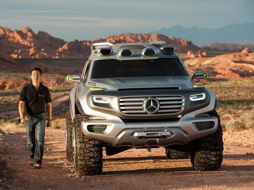 国产新车suv-未来G级雏形 奔驰推Ener G Force概念车