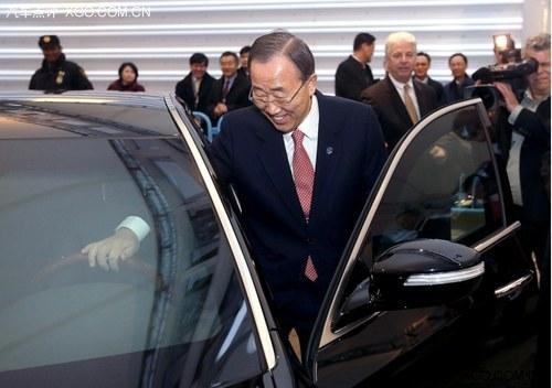 达到VR7级别 联合国秘书长防弹座驾曝光_雅科