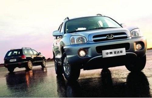国际中级SUV入门轿车价 详解华泰圣达菲(多图)