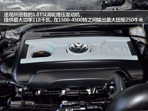 挑战1.8T动力 传祺GS5对比上海大众途观