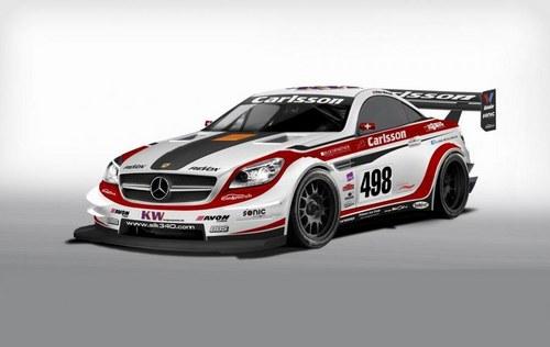 日内瓦亮相 卡尔森将推出SLK 340赛车
