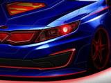 正义的朋友! 起亚K5超人版预告图发布