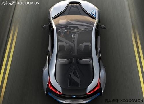 宝马全新旗舰车型M8将搭载双涡轮增压V8汽油发动机(图为i8概念车