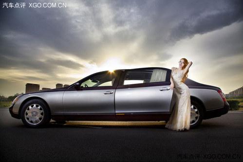 方的外部视觉是迈巴赫品牌的一贯风格-迈巴赫57 奔驰Zetros 凌特