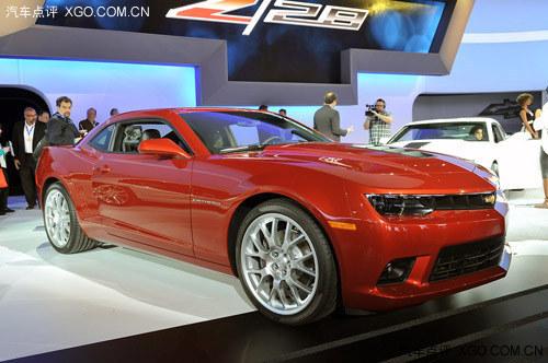 2013纽约车展 雪佛兰新款科迈罗SS发布
