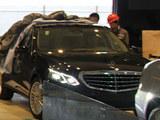 2013上海车展探馆 北京奔驰新E级变化大