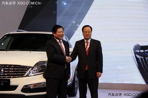 卖32.98万 双龙雷斯特W上海车展上市