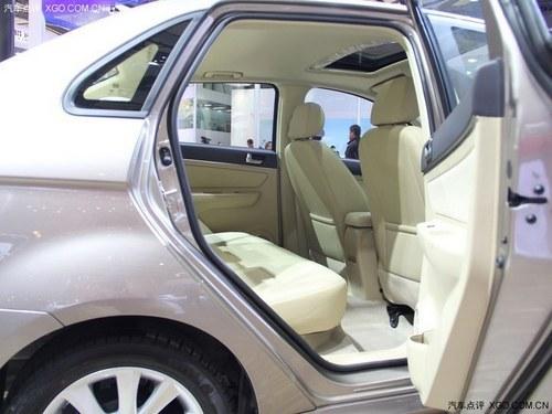 2013上海车展 北汽E150三厢版首次亮相
