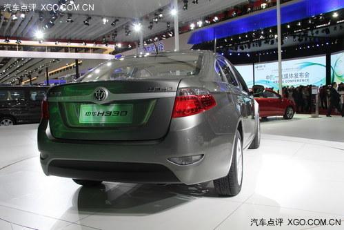 售6.58-7.58万 中华H330上海车展上市