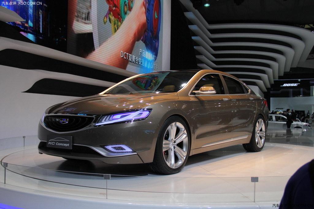 命名为EC9 吉利KC概念车2015年量产