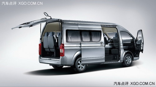 2013上海车展 福田蒙派克S级商务车首发