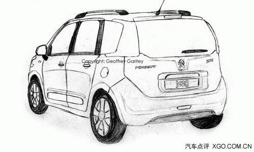 或2015年发布 标致欲推1008小型SUV车型