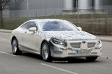 或2014年发布 奔驰全新S级Coupe曝光