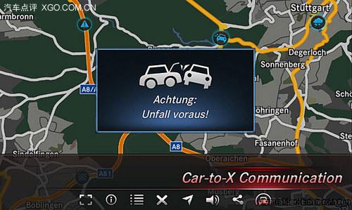 科幻成真 奔驰发布Car-to-X沟通技术[图]