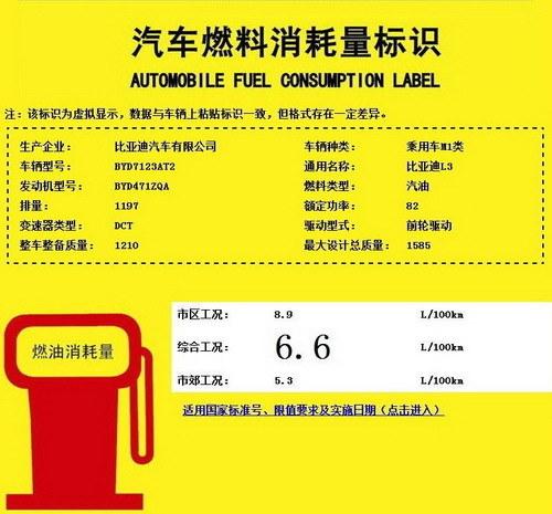 将年内上市销售 比亚迪L3 1.2T信息曝光