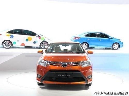 丰田威驰点火电路-展上亮相的全新威驰-动力将调整 丰田全新汉兰达2015年引入高清图片