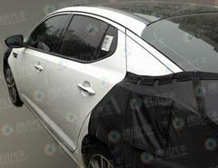 新增2.0T车型 起亚改款K5国内路试谍照