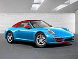 或法兰克福亮相 保时捷将推911蓝光版