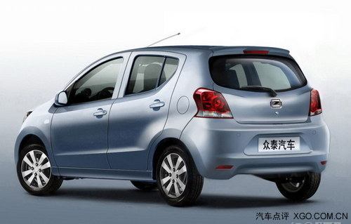 预售3-3.5万元 众泰Z100将于8月底上市
