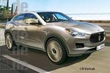 或将2014年发布 玛莎拉蒂首款SUV效果图