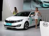 2013成都车展 起亚K5混动版售28.98万