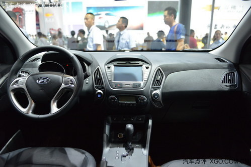 2013成都车展 北京现代新款ix35上市